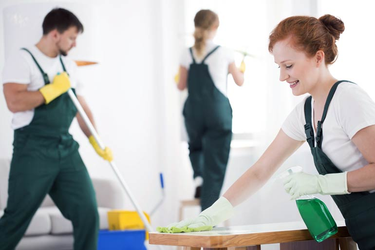 Sunshine cleaning and janitorial services cleaning