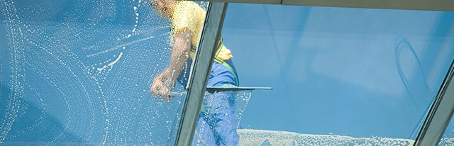 Sunshine cleaning and janitorial services window cleaning